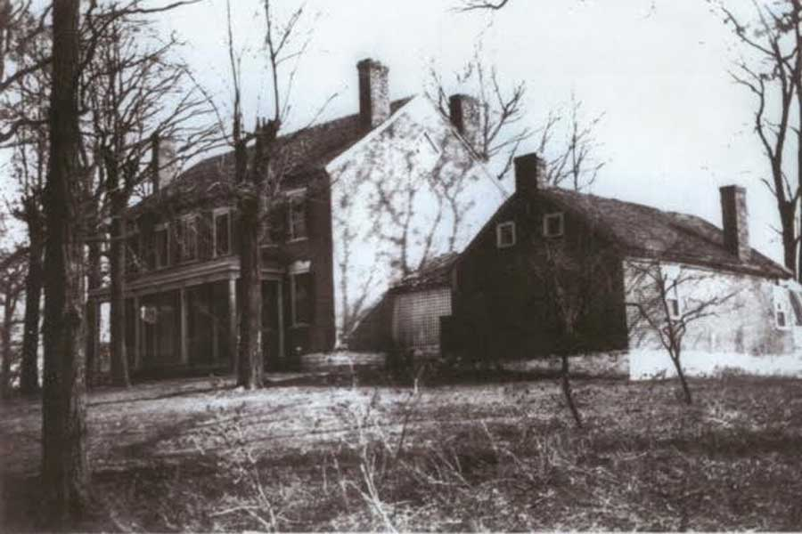 the inn at forest oaks built in 1806, natural bridge, virginia
